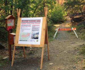 ingalls creek trailhead poster